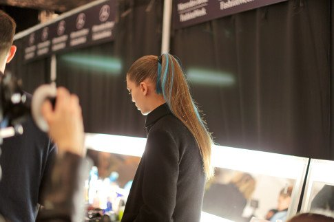 Herve Leger FW14 Backstage Behind The Scenes