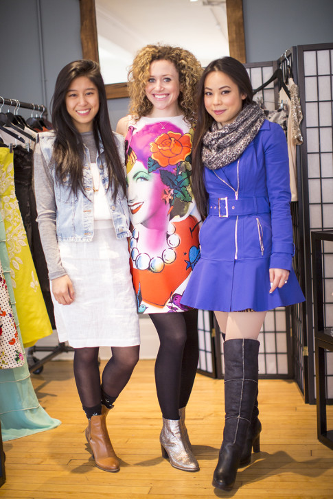 Kristin Grace Lam, Jennifer Heal & An Dyer at Bollare New York