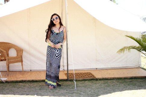 Coachella Safari Tents, An Dyer, HautePinkPretty, Herbal Essences body wash, Daily Escape, #CoachellaHerbalista