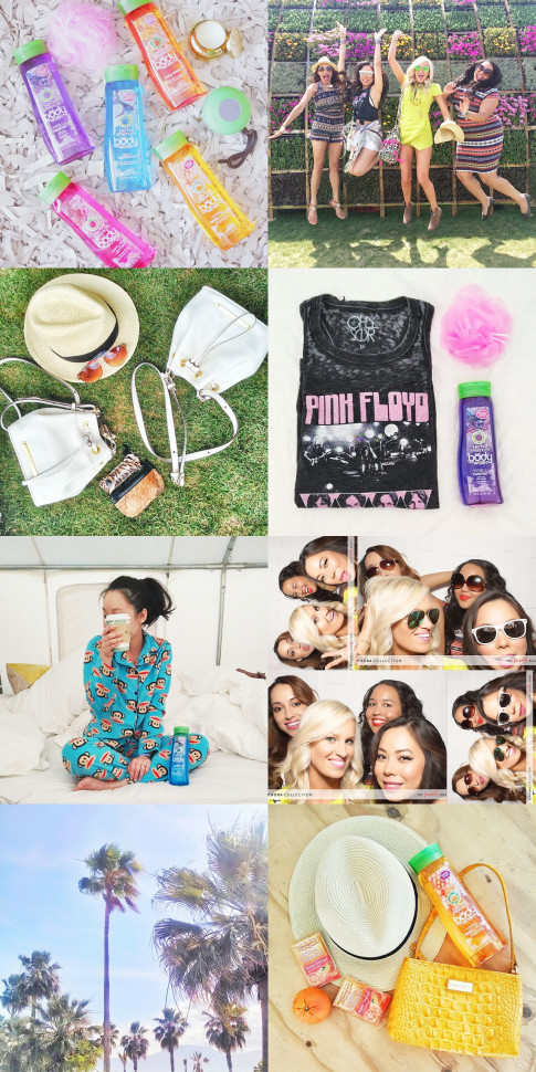 CoachellaHerbalista, Instagram Photos, Herbal Essences body wash, Daily Escape, #CoachellaHerbalista