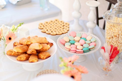 Macarons Sweets Bar
