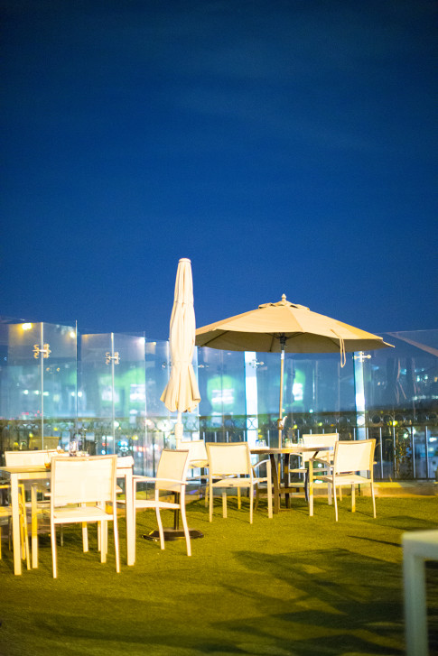 The Rooftop of Gordon Ramsay at the London West Hollywood