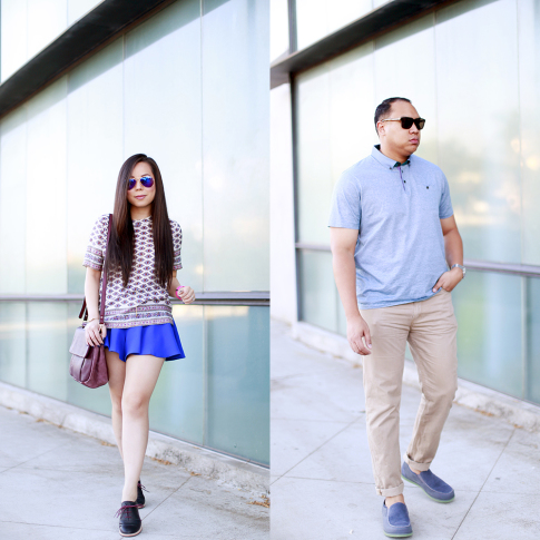 His and Her Style Ahnu Footwear