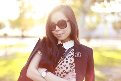 Elegant Preppy Style Chanel Fall