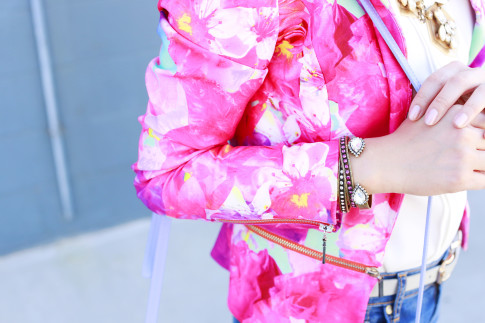 An Dyer wearing Loren Hope Bracelets