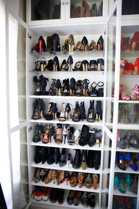 Organizing Black Shoes Shoe Closet