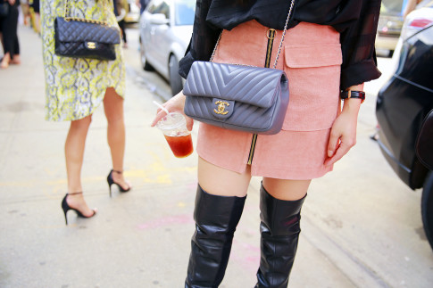 New York Fashion Week Day 4 Street Style Chanel Bags SS16