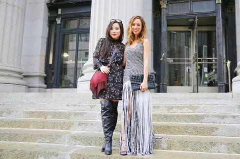 New York Fashion Week SS16 Day 1 Street Style An Dyer HautePinkPretty Sydne Summer SydneStyle