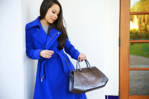An Dyer for Brahmin B C B Generation Blue Coat Fall Winter