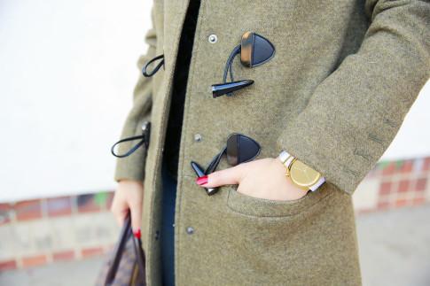 An Dyer wearing Dawn Levy Waverly, 1Face Watch