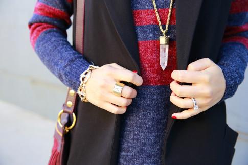 An Dyer wearing Kendra Scott