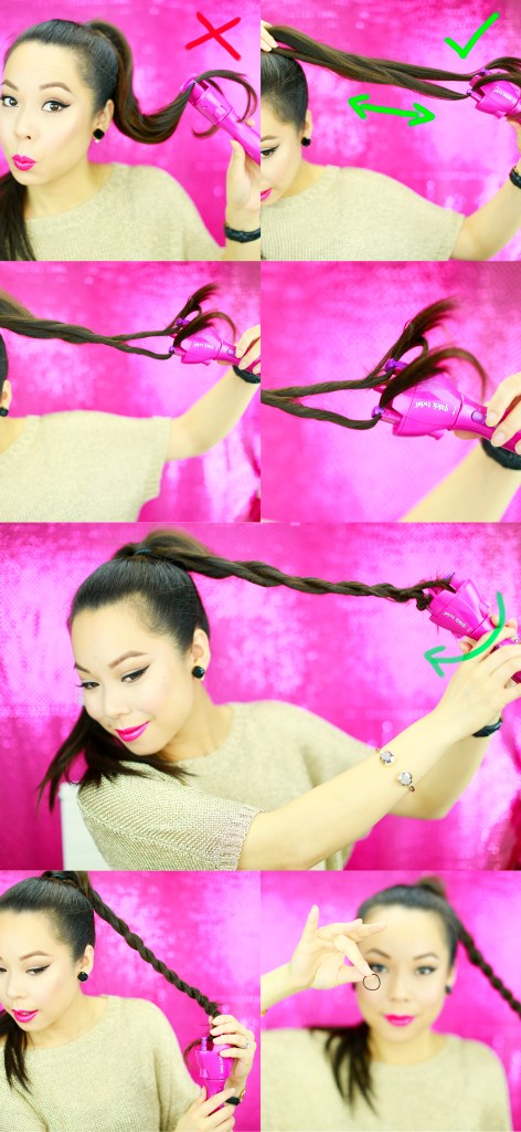 Rope Braid Bun Tutorial 2