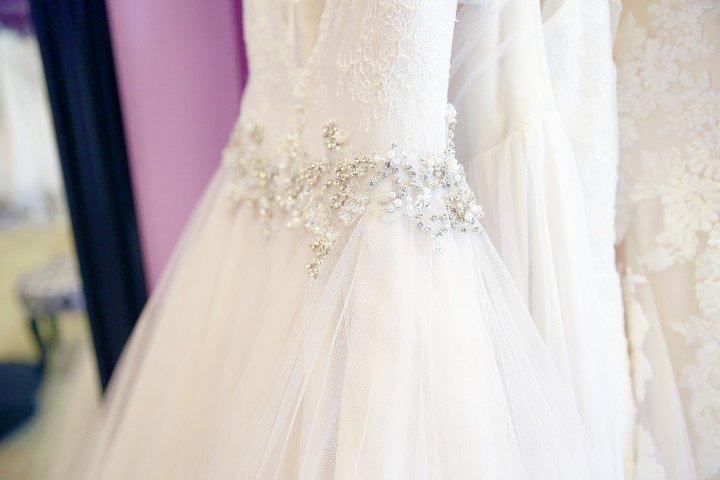 Stella York Dress Details