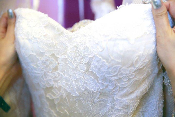 Stella York Lace Detail