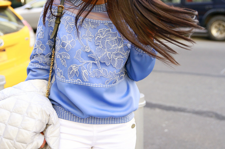 Tadashi Sweatshirt Detail
