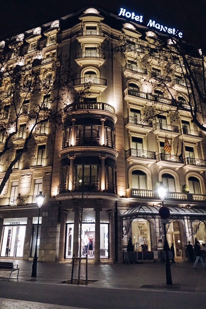 Hotel Majestic Barcelona Spain