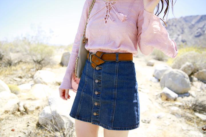 An Dyer wearing Forever 21 Coachella 2016