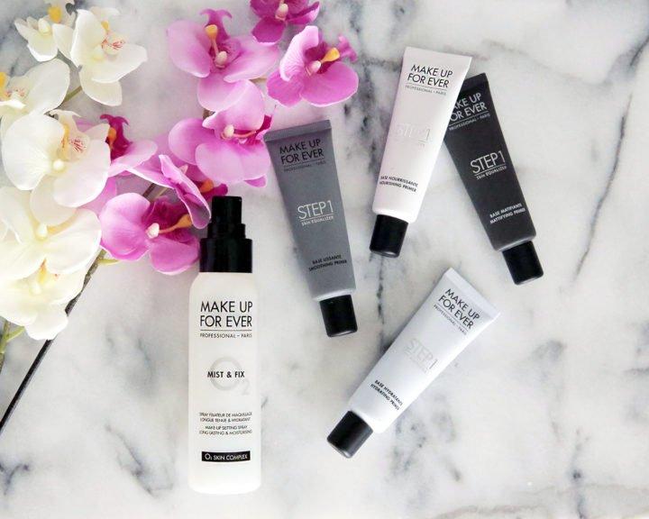 Make Up For Ever MUFE Mist Fix Setting Spray Step 1 Skin Equalizer Primer
