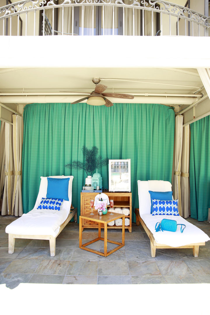 Beverly Wilshire Cabana Pool