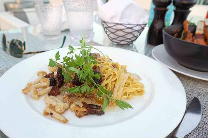 Boxwood On The Roof The London WeHo Beverly Hills Tagliatelle Pasta