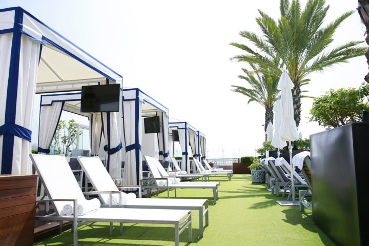 The London West Hollywood Beverly Hills Rooftop Cabanas