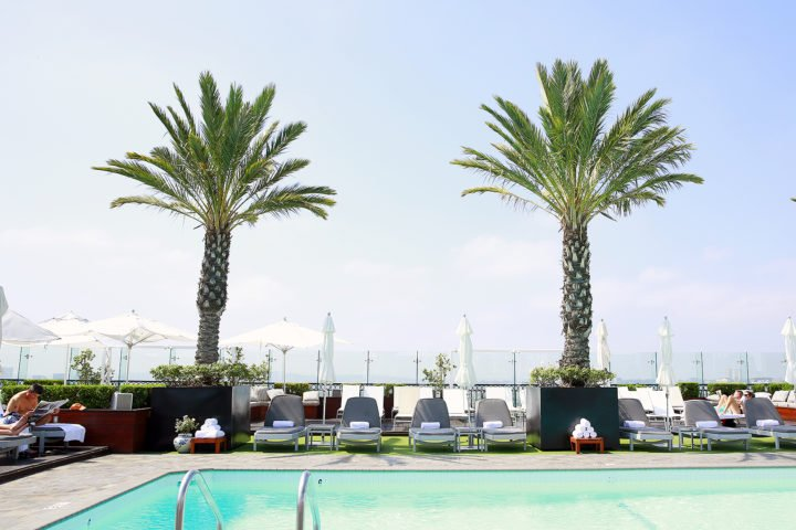 The London West Hollywood Beverly Hills Rooftop Pool