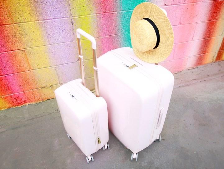 Raden Pink Luggage Set