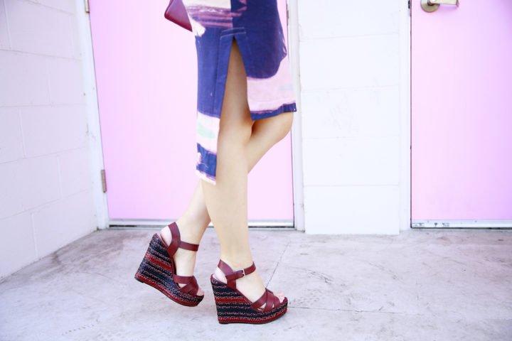 ShoeDazzle Carletta Wedge Heels