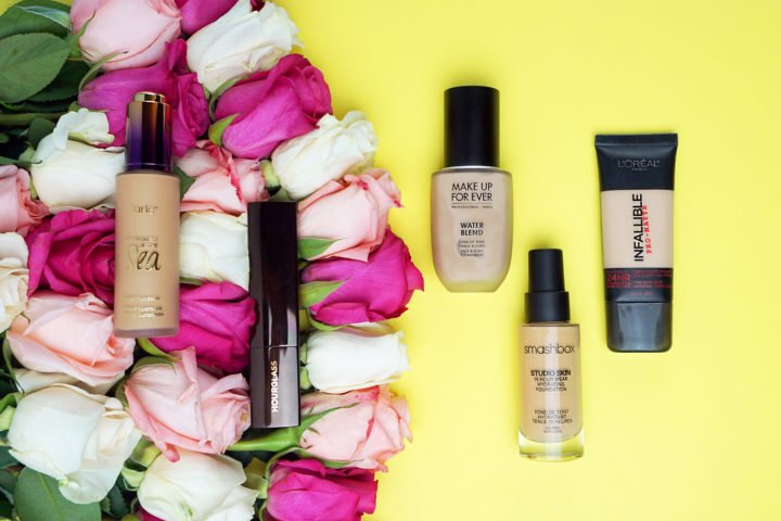 best-foundations-for-oily-skin-high-end-drug-store-matte