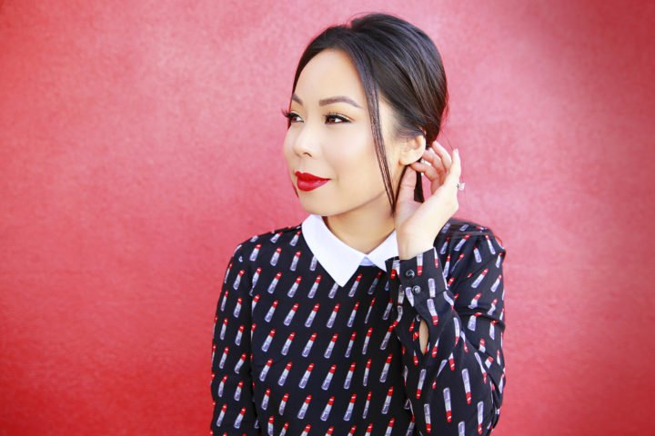 blogger-an-dyer-wearing-forever-21-lipstick-dress