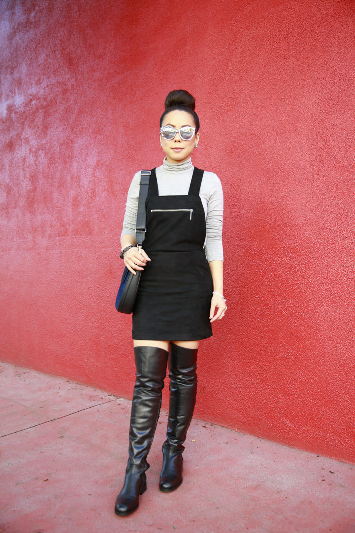 an-dyer-wearing-otk-boots-with-dolce-vita-overalls-suede-black