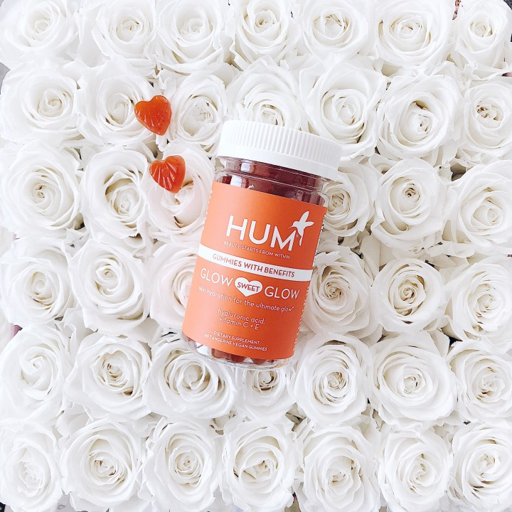 Hum Nutrition Vegan Vitamin Gummies Glow Sweet Glow