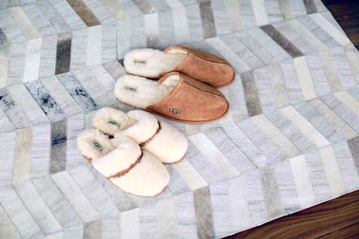Ugg Australia Dalla Natural Scuff Chestnut House Slippers