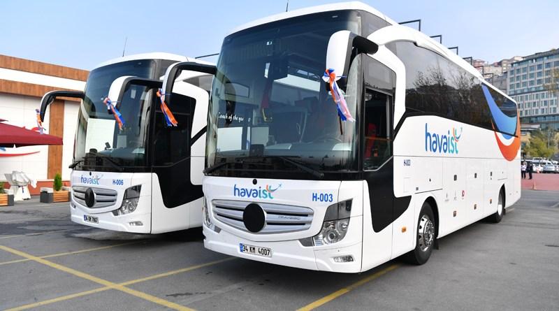 İstanbul 3. Havalimanı HAVAİST Servis Otobüsleri