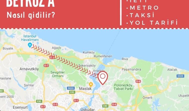 istanbul havalimanından beykoza ulaşım