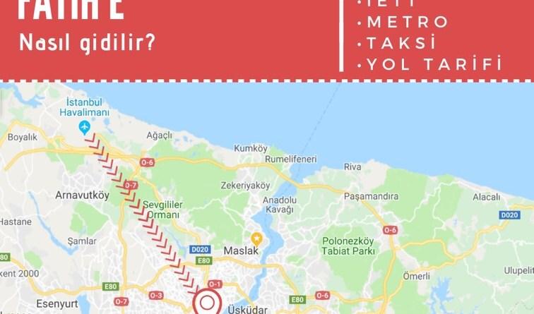 istanbul havalimanından fatihe ulaşım