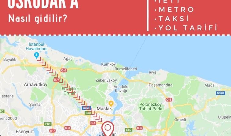 istanbul havalimanından üsküdara ulaşım