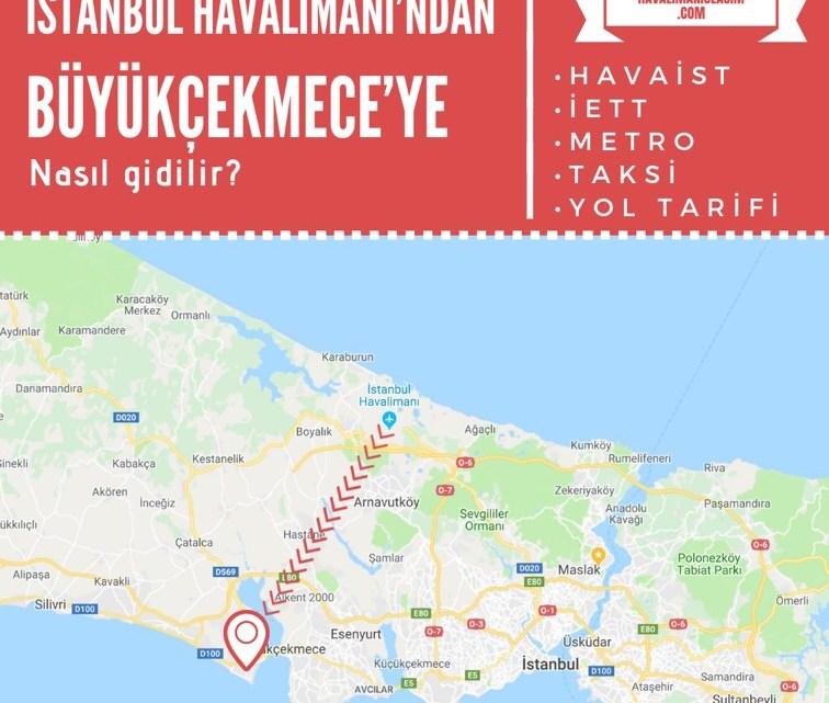 İstanbul Havalimanı'ndan Büyükçekmece'ye Ulaşım Bilgileri