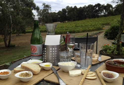 Mornington Peninsula Lunch Green Olive at Red Hill