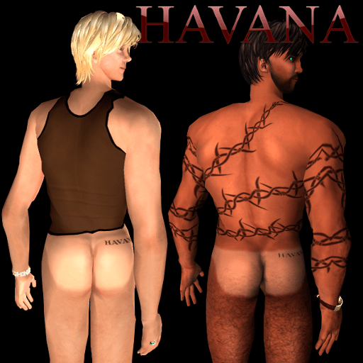 Havana Tan Line Freebies (for light and tanned skins)
