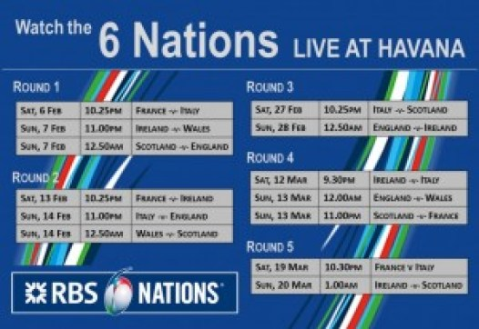 RBS 6Nations 6Feb16 Poster
