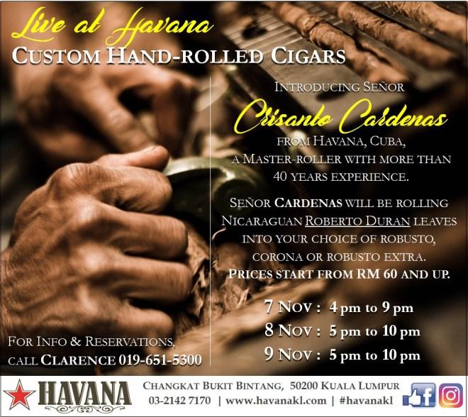 Cigar Roller Cardenas 7-8-9Nov17