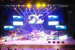 stage view of fiesta de tambor