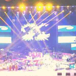 photo of live music from fiesta del tambor in Cuba