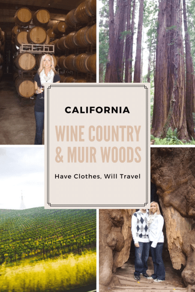 wine country & muir woods