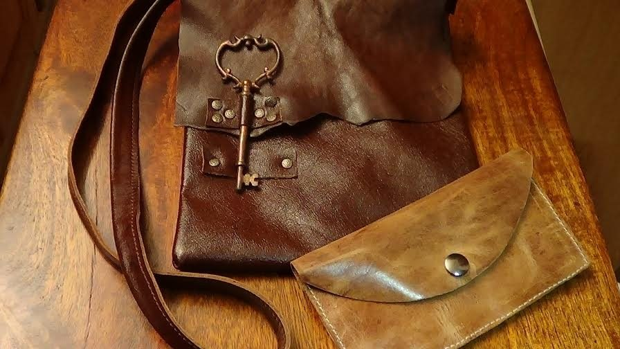 Purses made by C&A Leather.