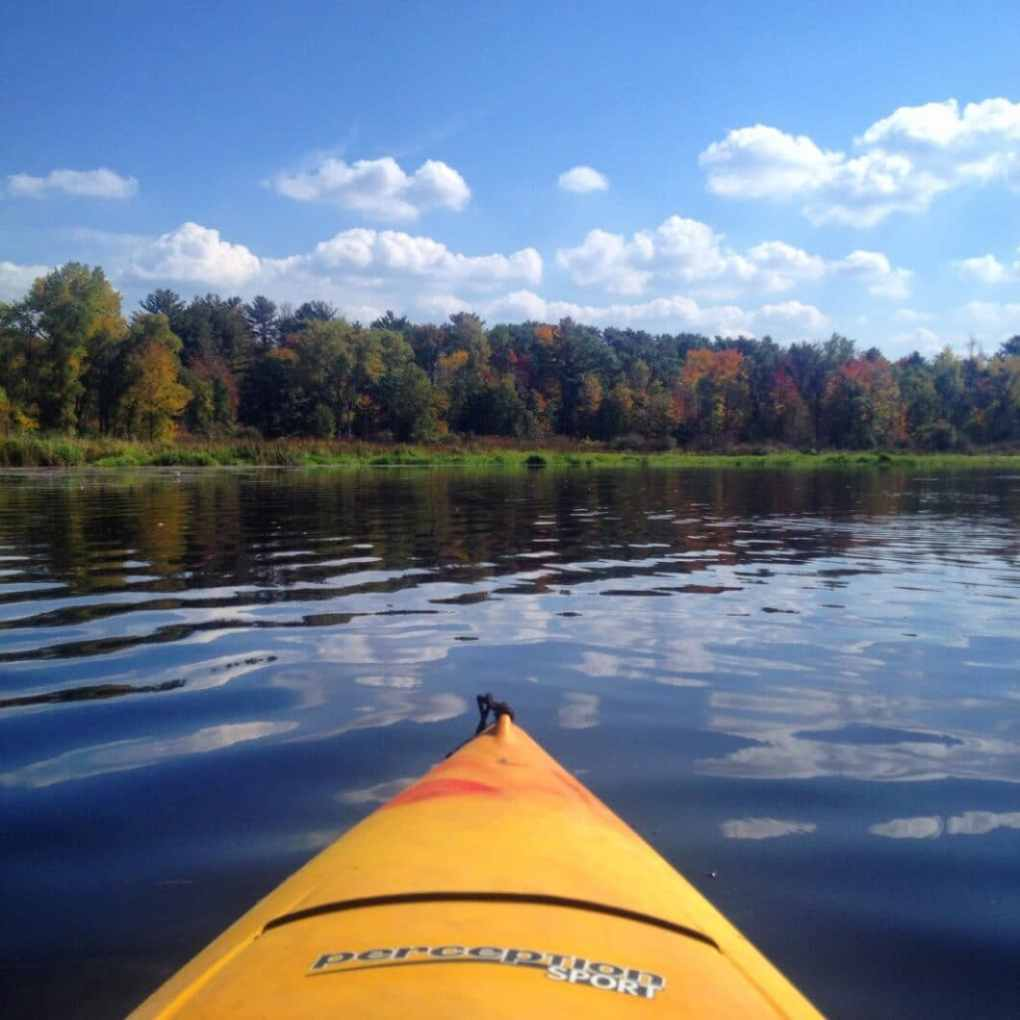 Picture from a kayaking trip we took in Stevens Point.