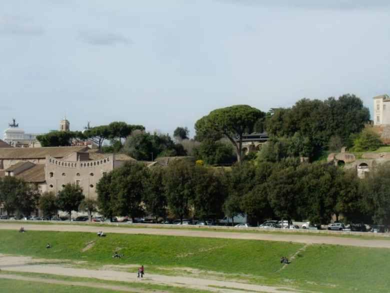 Baths of Caracalla and Circus Maximus