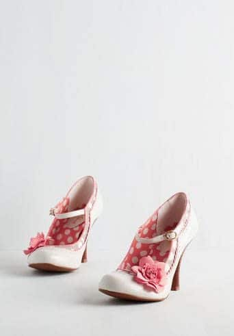 Dapper Dance Heel in Ivory: ModCloth
