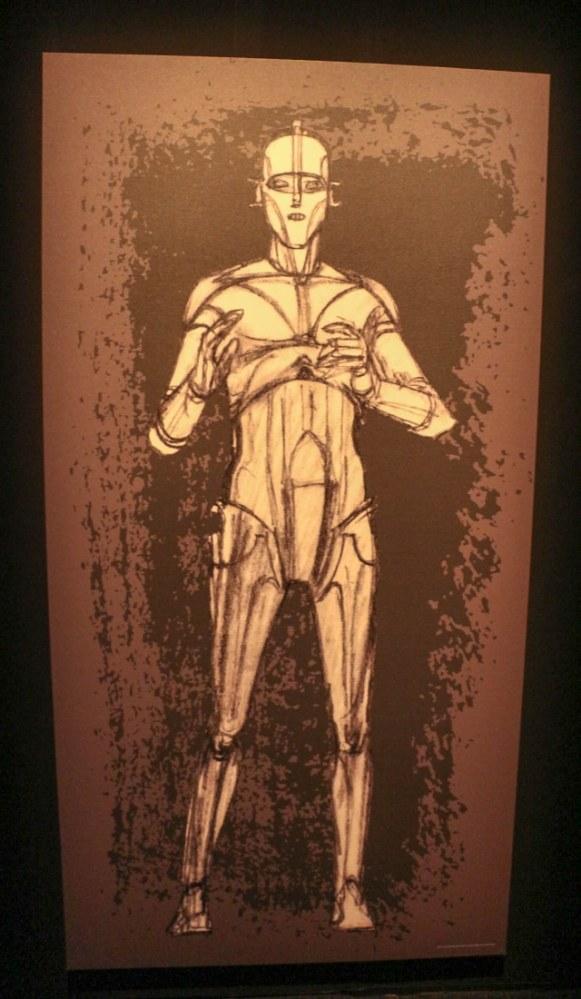 C-3PO drawing